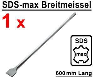 SDS-max Breitmeißel 400 mm Lang Meißel Stemmmeißel für Bohrhammer Stemmhammer