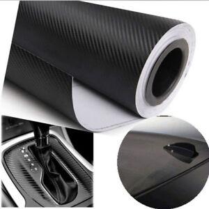 127 x 50mm 3d selbstklebend carbon folie auto kfz klebe folie glanz matt schwarz ebay. Black Bedroom Furniture Sets. Home Design Ideas