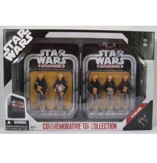 Star wars  gedenk - zinn - collection - eine neue hoffnung exclusive edition
