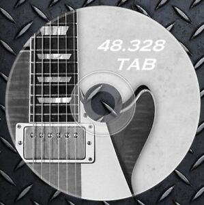 444bb1e8af8 48.328 Guitar and Bass TABS Sheet Music songbook tabulature acustic ...