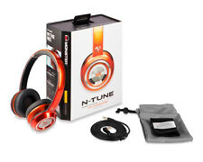 Monster N-Tune Noise Isolating On-Ear Headphones - Candy Tang Orange - 1228507