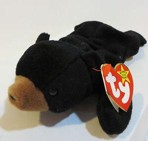 5723bb5c231 Image is loading BEANIE-BABIES-BLACKIE-BEAR