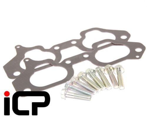 Genuine Inlet Manifold Gaskets /& Bolts Fits Subaru Impreza Turbo 98-00 STi P1