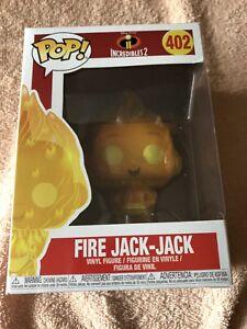 100% Vrai Feu Jack-jack Funko Pop Vinyl Figure #402 Disney The Incredibles 2 Jackjack-afficher Le Titre D'origine