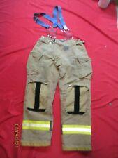 Mfg 2011 Morning Pride 38 X 34 Fire Fighter Turnout Pants Bunker Gear Suspenders