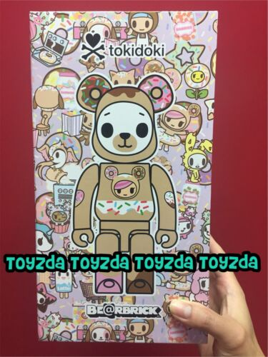 Medicom 2019 Action City X Tokidoki BISCOTTI Brown 400/% Be@rbrick Bearbrick