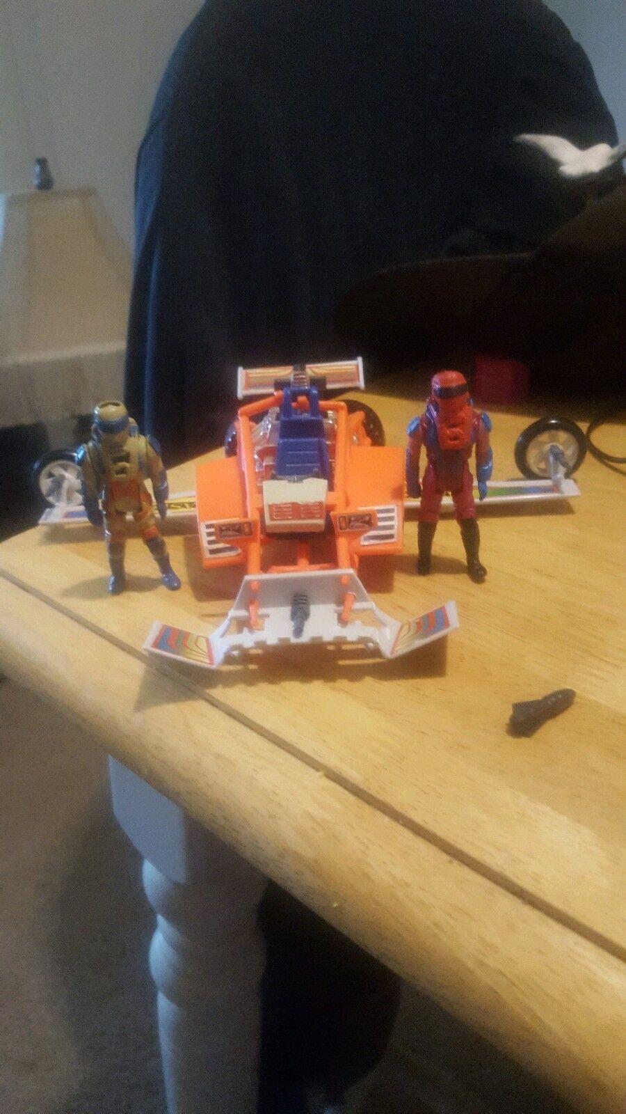 Mask Kenner Firefly vehículo con 2 Julio Lopez con másCocheas. con armas y explosivos