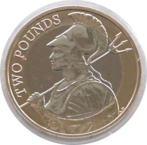 2017 British Royal Comme Neuf Britannia Définitif Bu £ 2 Deux Pound Coin Universel-afficher Le Titre D'origine