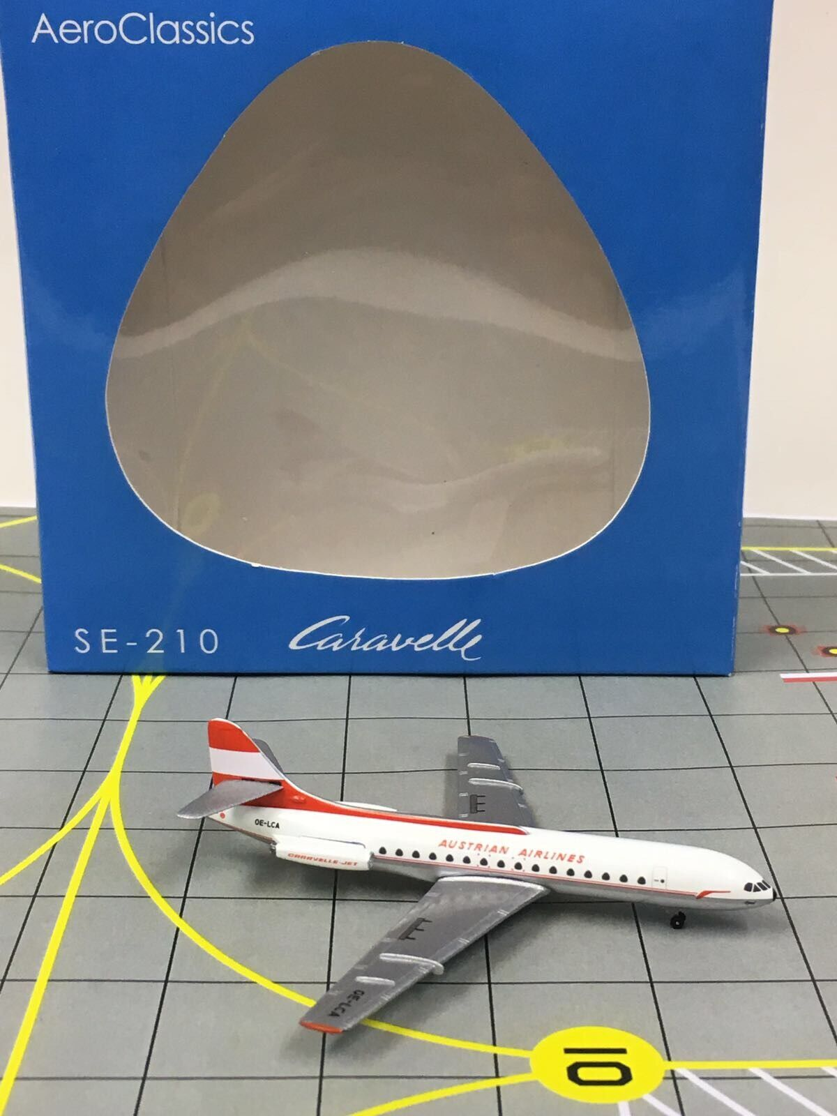 RARE Aeroklassics 1 400 Austrian Airlines SE -210 bilavelle OE -LCA