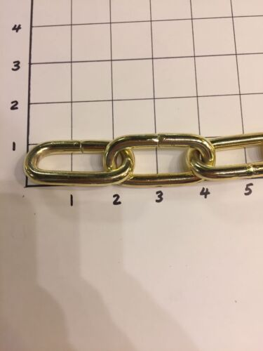 Chandelier Chain Side Cut High Quality Made. 3/' Polished Brass  110 LB