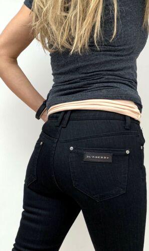 Jeans 195 noir Burberry Sexy Stretch skinny mince L34 W27 London 6wdvIIqT