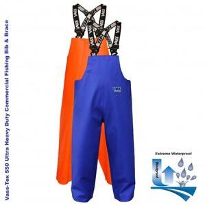 VASS Tex 550 Extreme Imperméable à l/'eau//huile peau//Pêche à smocks