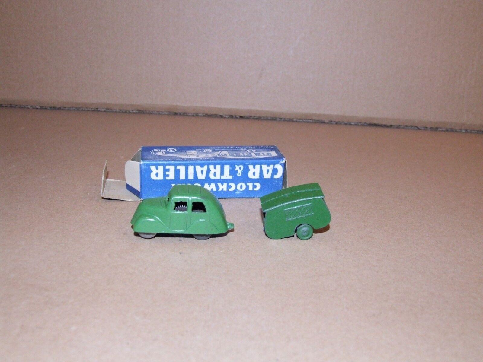 KAY for Cleveland Toy Manfg. Co. Clockwork Car & Trailer Set
