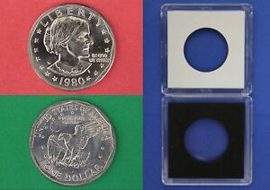 1979 P Susan B Anthony Dollar With 2x2 Case From Mint Set Combined Shipping