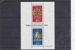 RFA-1973-BF-8-CONGRES-INTERNATIONAL-DES-PHILATELISTES-MUNICH-NEUF