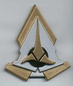 Star-Trek-Klingon-Communicator-Comm-Badge-Pin-Hook-amp-Loop