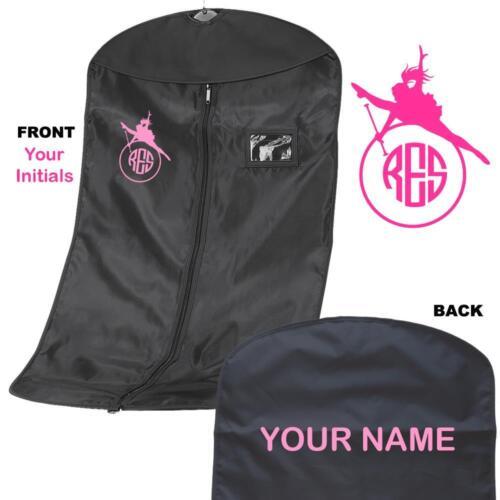Personalised Monogram Baton Twirling//dance Suit carrier//Costume garment Bag 2