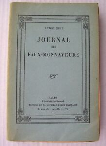 ANDRE-GIDE-JOURNAL-FAUX-MONNAYEURS-NRF-1927-NUMEROTE