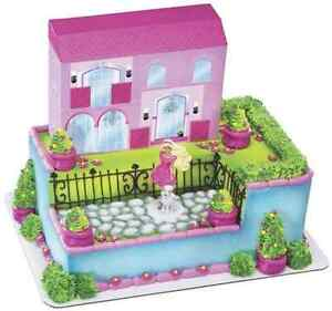 Details About New Barbie Dream House Party Signature Cake Kit 1