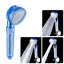 3 Type Setting Handheld Shower Head with Filter Laser Massage Boosting Water
