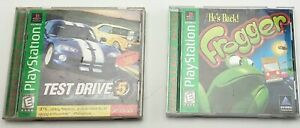 Lot Of 2 Playstation Test Drive 5 + Frogger Games