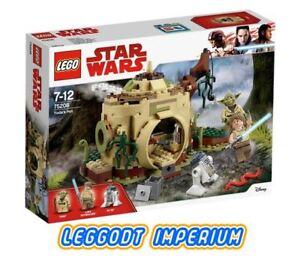 LEGO-Star-Wars-Episode-V-Yoda-039-s-Hut-75208-New-Sealed