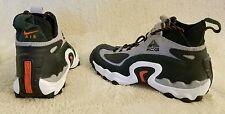 Vintage Original 1997 Nike ACG Gradeschool Shoes Boots Size 6.5 Grey Orange Blk