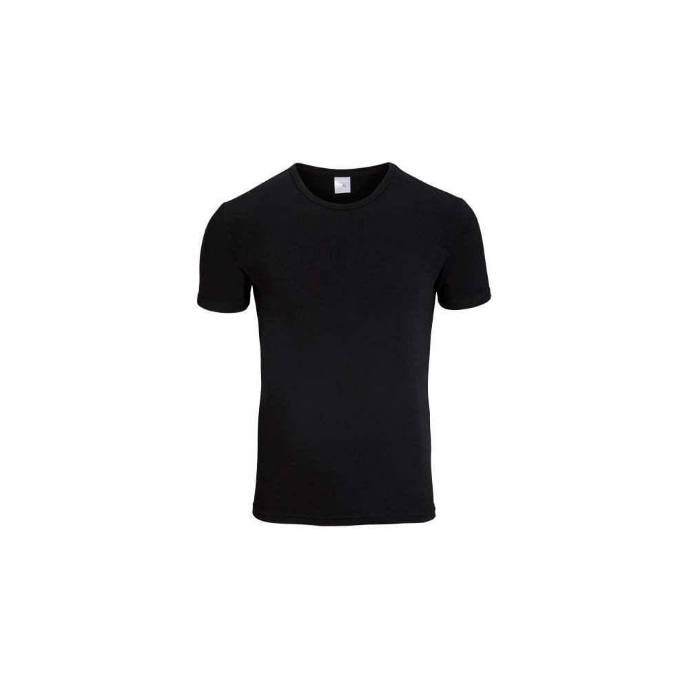Bjorn Borg 2-Pack Girocollo Cotone Stretch Uomo T-shirt, Nero