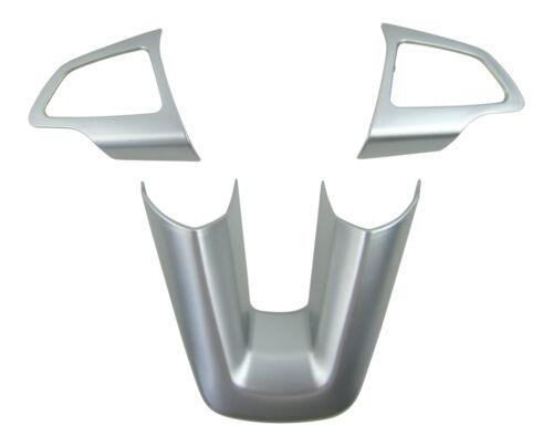 Kuga II 2 ALU Lenkrad Abdeckung Blenden Clip im 3tlg für Ford Focus 3 III MK3