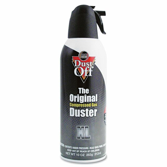 Dust-Off Air Computer TV Disposable Compressed Gas Duster, 10-oz. XL 1X Can