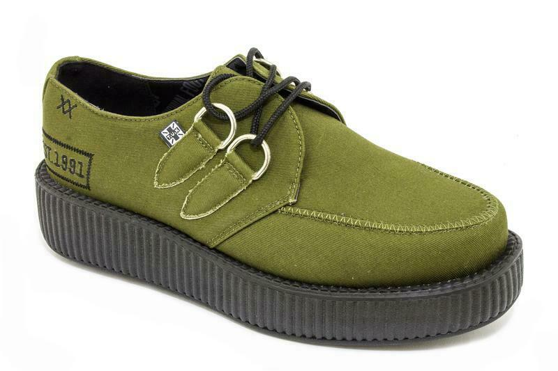 T.U.K v8926 Army verde TEXTILE W Military Patch viva Low Creeper