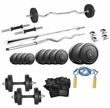 Protoner 20 Kg With 4 Rods Home Gym Package & Accessories