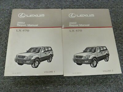 Bestseller: 2002 Lexus Lx470 Workshop Manual