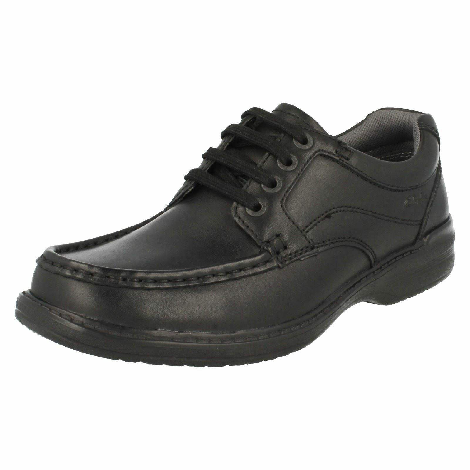 Uomo KEELER Leder WALK H fitting schwarz Leder KEELER Lace up shoe BY Clarks b553f5