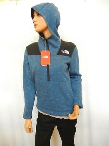 NWT-65-The-North-Face-Boys-Linton-Peak-Anorak-Jacket-Blue-Hooded-Size-L
