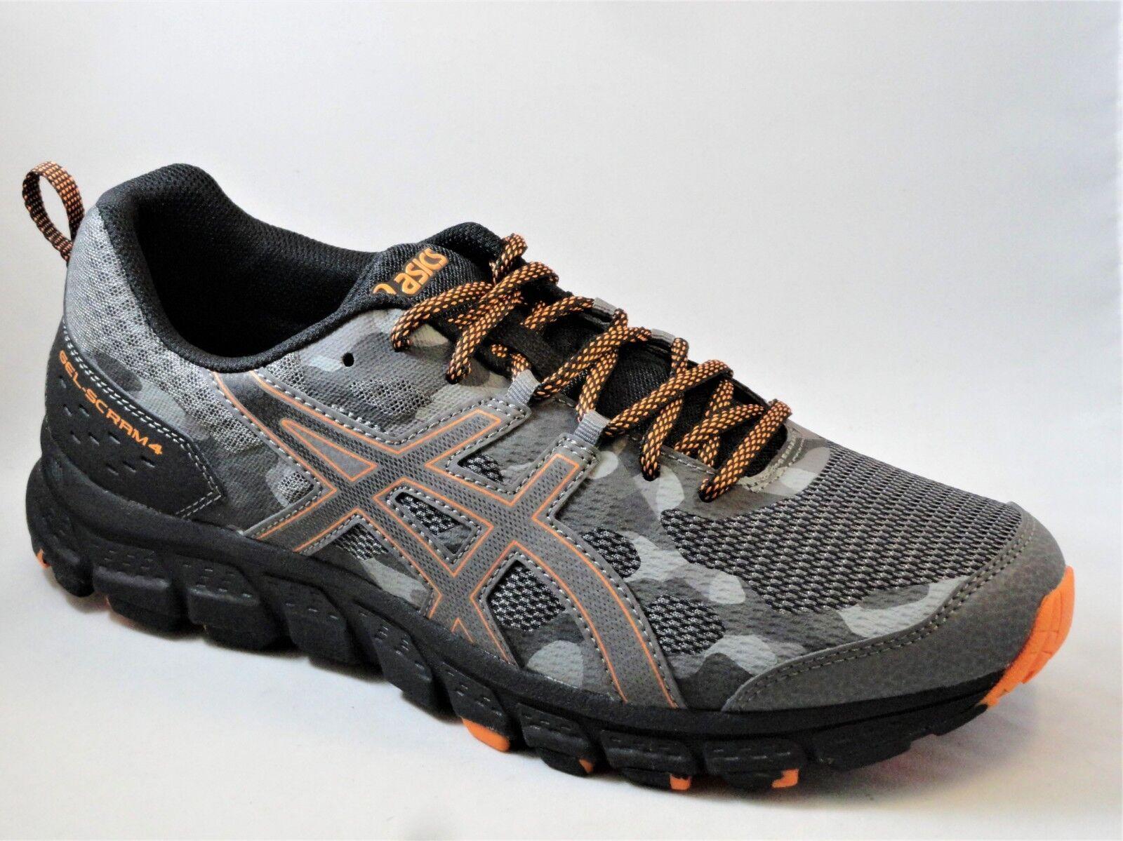 Men's Asics GEL-SCRAM 4 1011A045/020 Carbon Lava Trail Running Shoes