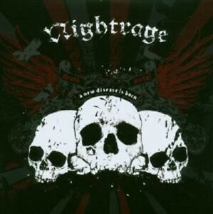 Nightrage-034-a-new-Disease-IS-BORN-034-CD-NEUF