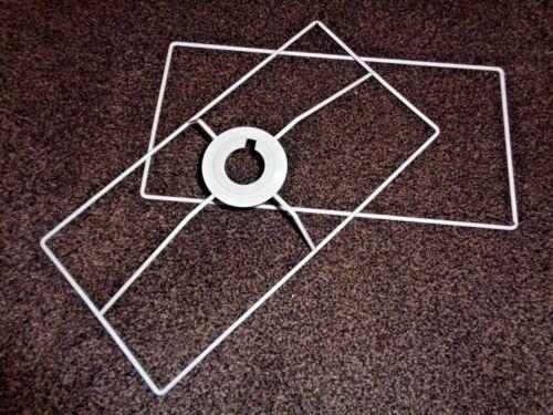 Oblong Rectangle Frame Set pour faire un 40 cm x 20 cm abat-jour Making Kit Cadre