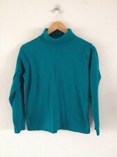 Paco Boutique Cotton Jersey Top Size M Jade <R12207