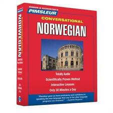 Conversational: Norwegian : Totally Audio - Scientifically Proven Method - Interactive Lessons - Only 30 Minutes a Day 1 by Pimsleur (2007, CD, Unabridged)