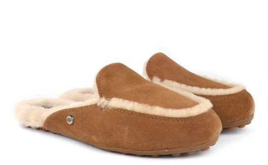 042275169ed UGG Australia Lane Chestnut Moccasin SLIPPER Women s Size 9 for sale ...