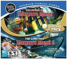 Margrave Manor 1 & 2 PC Games Windows 10 8 7 XP Computer hidden object seek find