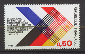 FRANCIA-FRANCE-1973-MNH-SC-1357-Franco-German-treaty
