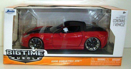 suministro directo de los fabricantes JADA 1 24 SCALE- 96804 2006 CHEVROLET CORVETTE Z06 - - - rojo  muy popular