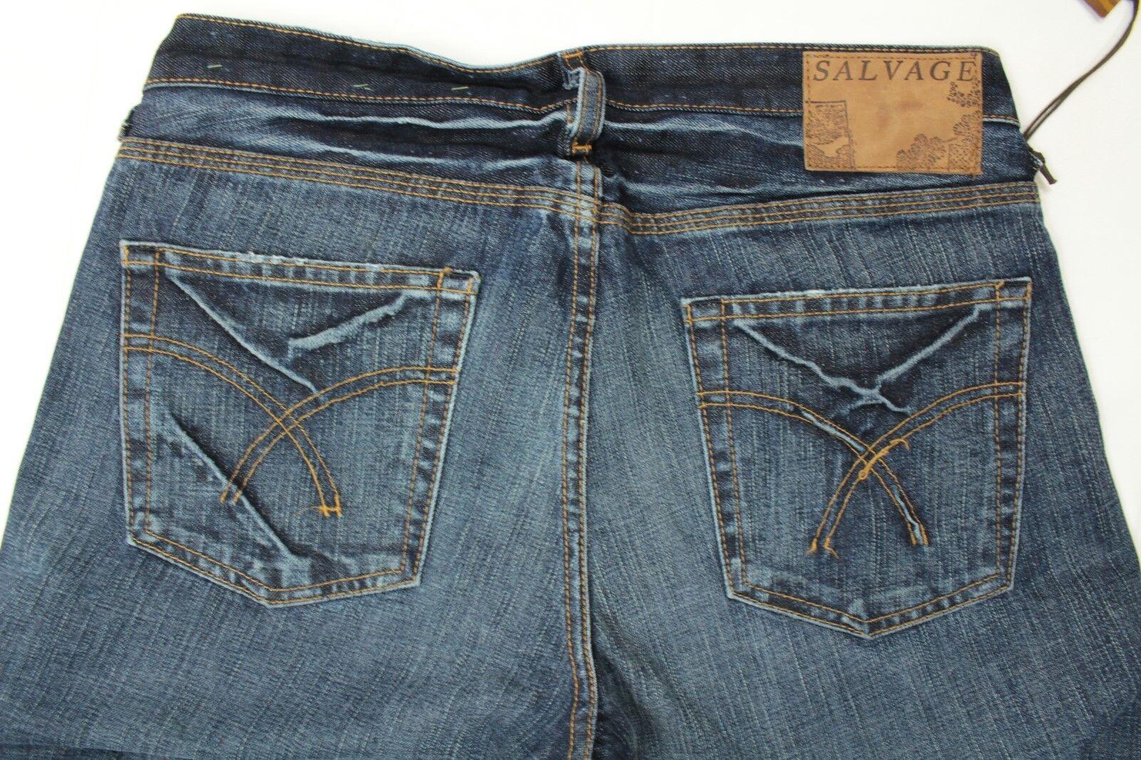 Buckle Salvage Coupe Homme Jeans Coupe Salvage Bottillon Délavé Jeepster Braguette Boutonnée eae409