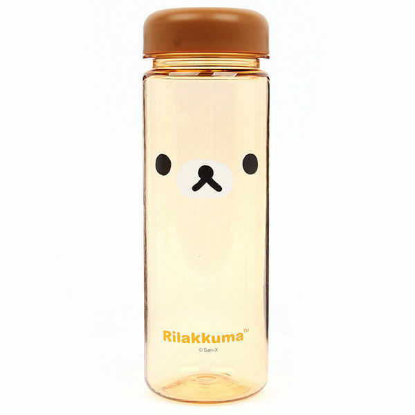 Rilakkuma Bottle Cute Water Kids 500ml BPA Free Gift Sports Outdoor_NK