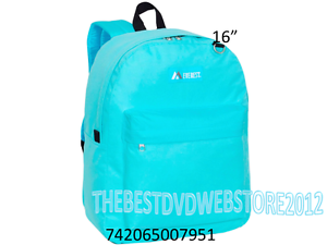 Image is loading Everest-Boys-amp-Girls-School-Backpack-16-034- 71a245a262f63