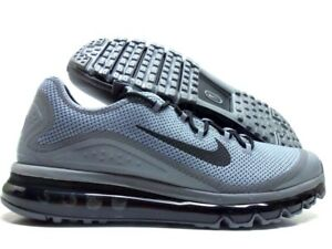 0b13b75fe8a26 NIKE AIR MAX MORE COOL GREY BLACK-COOL GREY SIZE MEN S 12.5  898013 ...