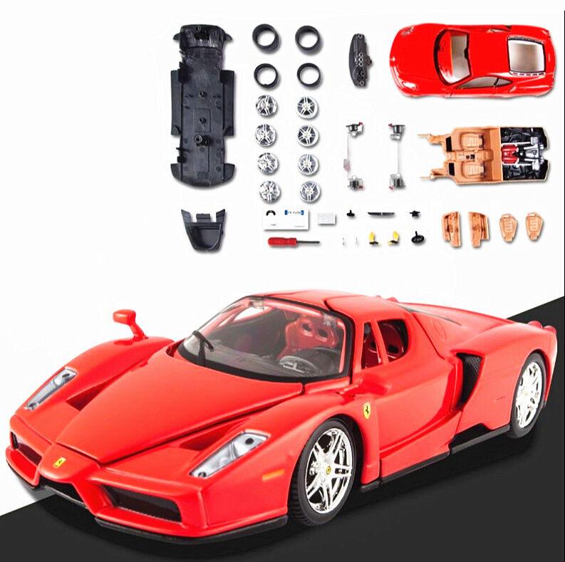 Maisto 1 24 Ferrari ENZO tärningskast Assembly KIT DIY tärningskast modellllerler Bilfordon