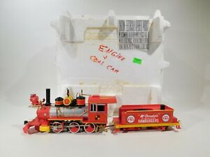 Hawthorne-Village-On30-Scale-McDonald-039-s-Engine-amp-Coal-Car-TOT2119-C-160